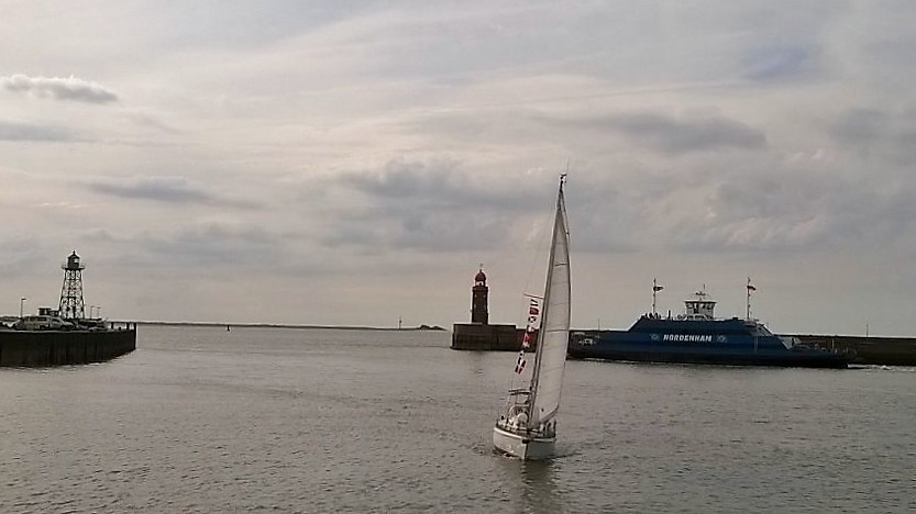 SY Swantje wieder in Bremerhaven