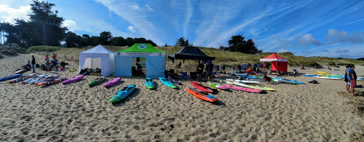 Plage des Chevrets: Watersport Event