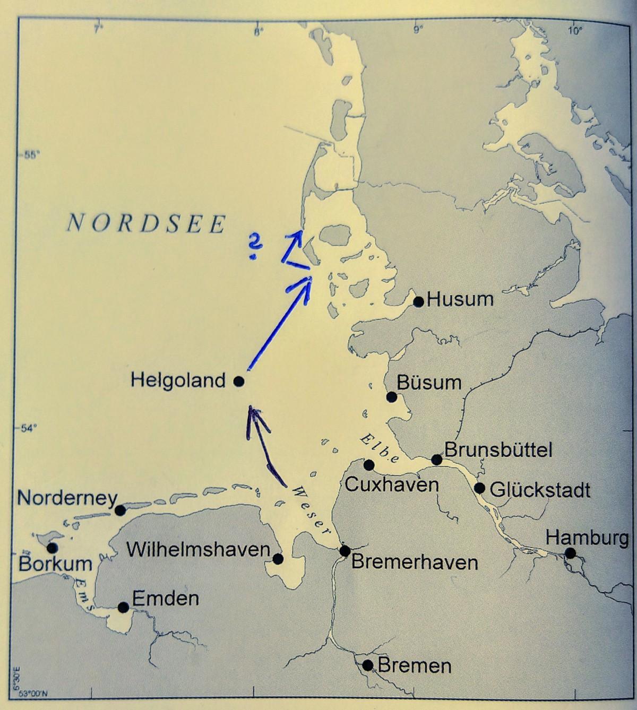 Helgoland, Amrum und…